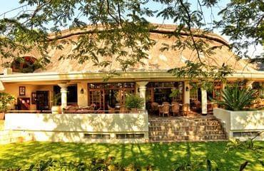Boutique hotel at Victoria Falls