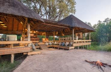 Located on the Khwai conservancy